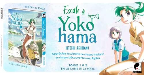 Yokohama Kaidashi Kikou, le manga arrive en France chez Meian