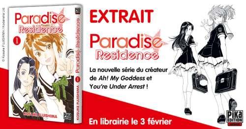 Découvrez les premières pages du manga «Paradise Residence» chez Pika