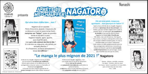 Avis Manga Noeve Grafx – Arrête de me chauffer, Nagatoro (tome 1)