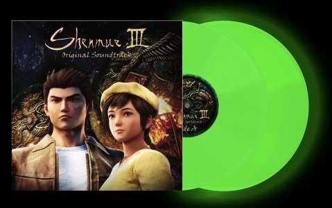 Bande originale – Shenmue III Edition Limitée Vinyle Vert Phosphorescent