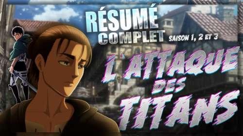 L'Attaque des Titans – Résumé de la saison 1 à 3