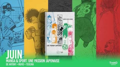 Manga & Sport – Une passion japonaise chez Third éditions