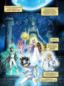 Saint Seiya – Les Chevaliers du Zodiaque adapté en BD par Jérôme Alquié pour Kana