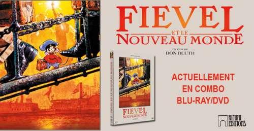 Concours Fievel et le Nouveau Monde – Gagner 3 Blu-Ray du film !