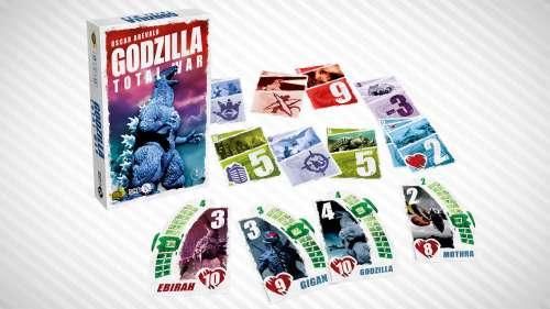 Godzilla Total War – Un jeu de cartes dans l'univers de Godzilla