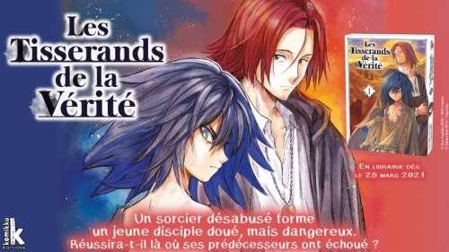 Découvrez un extrait du manga Les Tisserands de la Vérité chez Komikku Éditions