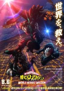 Le prochain film My Hero Academia arrive prochainement…