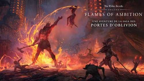 TESO : le pack de jeu Flames of ambition est disponible sur PC et Mac