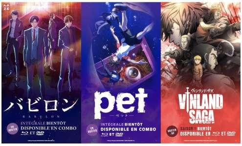 Kaze annonce 3 animes pour une sortie en Blu-Ray & DVD