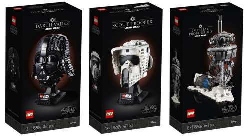 Casques LEGO Star Wars