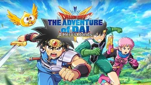DRAGON QUEST The Adventure of Dai: A Hero's Bonds arrive sur mobile