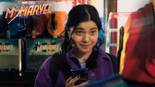 Vidéo de tournage pour la série Ms. Marvel