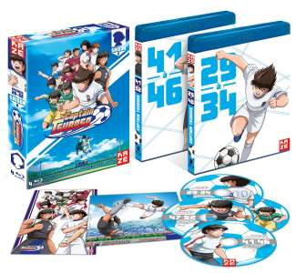 La partie 2 de Captain Tsubasa arrive en coffret DVD et Blu-ray chez Kazé.