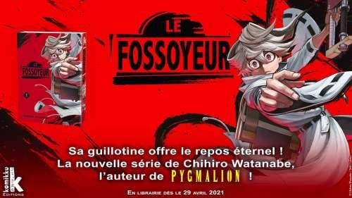 Découvrez un extrait du manga Le Fossoyeur chez Komikku