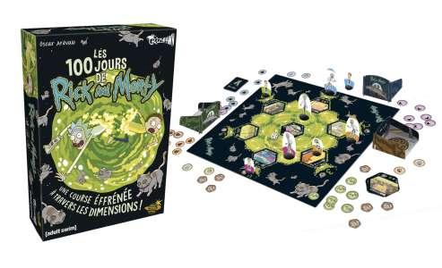 Le jeu de cartes humoristique «Les 100 jours de Rick & Morty» sort le 02 avril !
