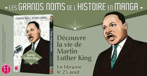 Martin Luther King en manga bientôt chez nobi nobi!