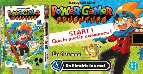 Extrait du manga Power Gamer Adventure chez nobi nobi !