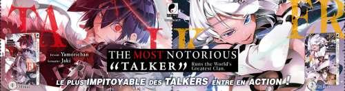 Le manga The Most Notorious «Talker» arrive chez Meian éditions