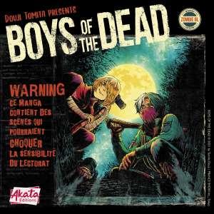Le manga Boys of the Dead en version numérique chez Akata