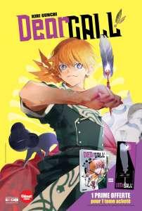 Extrait du manga Dear Call chez Glenat