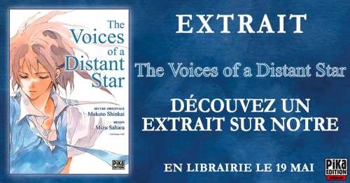 Découvrez l'extrait du manga The Voices of a Distant Star