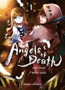 Bande-annonce pour le manga Angels of Death !