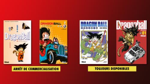 Arrêt de commercialisation des éditions sens français de Dragon Ball !