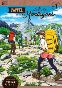 Extrait du manga L'appel des montagnes aux éditions Soleil