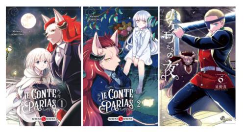 Le manga Le Conte des Parias, c'est terminé !!