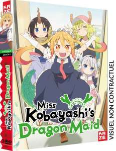 News sur l'animé Miss Kobayashi's Dragon Maid chez Kazé