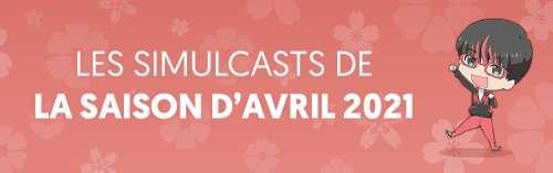 Annonces séries avril : 19 nouveaux simulcasts sur Wakanim !