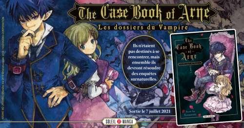 Le manga The Case Book of Arne arrive chez Soleil
