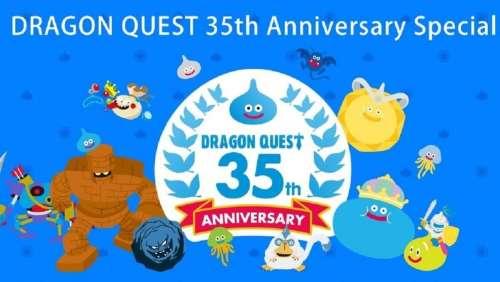 Square Enix célèbre 35 ans de DRAGON QUEST