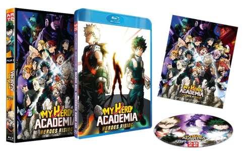 My Hero Academia – Heroes Rising en DVD et Blu-ray