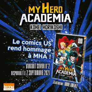 My Hero Academia, le tome 30 : variant cover !