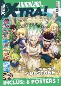 Animeland X-tra #61 est disponibles !