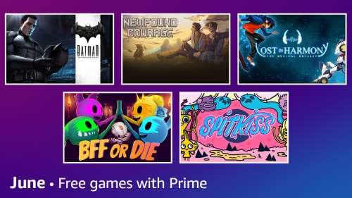 Les jeux gratuits de Juin avec Prime Gaming