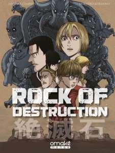 Le manga Rock of destruction aux éditions Omaké Books