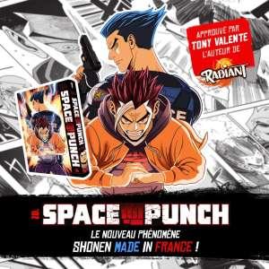 Le manga «shônen made in France»: Space Punch, arrive chez Ankama