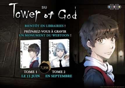 Avis Webtoon – Tower of God (tome 1)