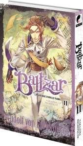 Le tome 11 du manga Baltzar, prévu fin juillet chez Meian dans la collection Seinen