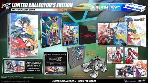 Blaster Master Zero 3 – édition collector Limited Run Games