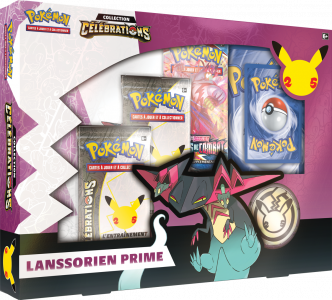 The Pokémon Company révèle la Collection Célébrations du JCC Pokémon célébrant les 25 ans de la marque