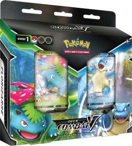 De nouveaux Decks Combat-V du Jeu de Cartes à Collectionner Pokémon