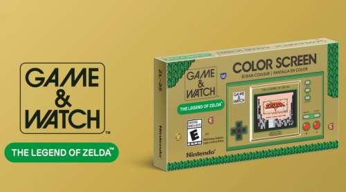 Game & Watch édition spéciale The Legend of Zelda