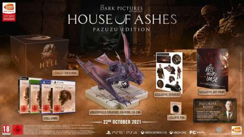 House of Ashes – édition collector (The Dark Pictures Anthology)