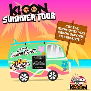 Le Ki-oon Summer Tour est de retour !