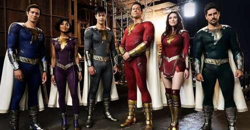 Shazam! Le directeur de Fury of the Gods révèle les nouveaux costumes de l'équipe