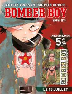 Le manga Bomber Boy arrive chez Panini Manga