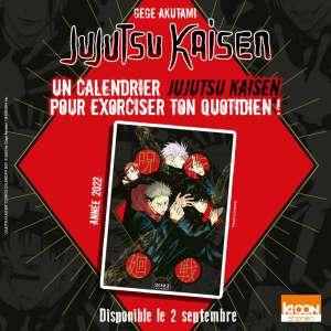 Un calendrier 2022 «Jujutsu Kaisen» !